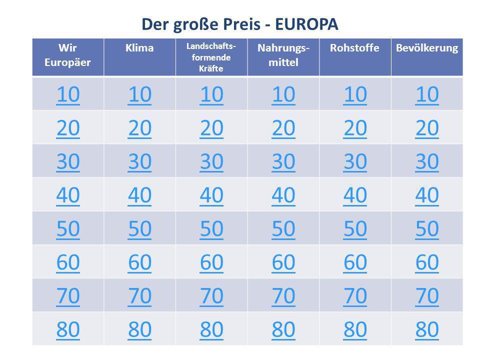 Wir Europäer 10 Nenne zwei der vier Freiheiten des EU- Binnenmarktes!