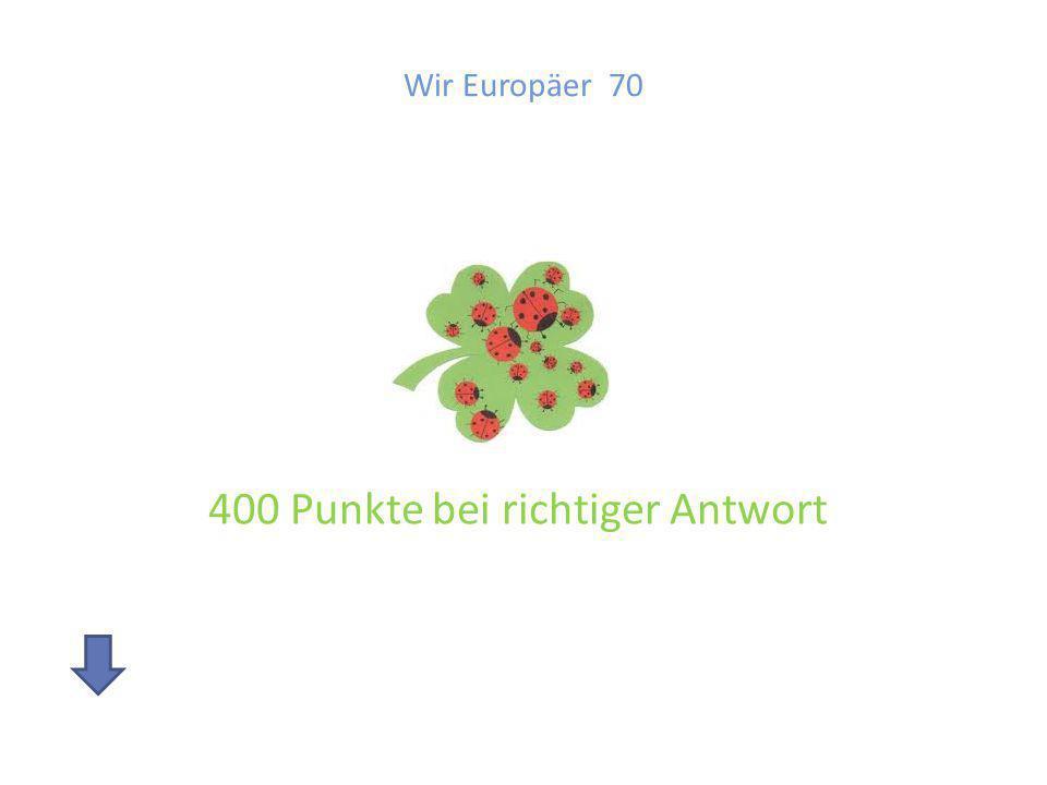 Wir Europäer 70 Beschreibe die Europaflagge und erkläre die Bedeutung!