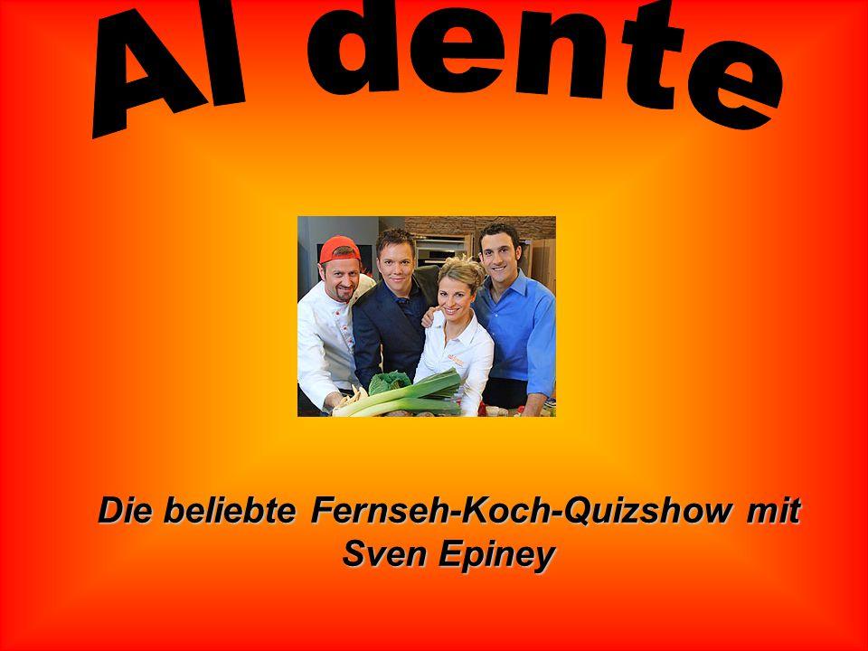 Die beliebte Fernseh-Koch-Quizshow mit Sven Epiney