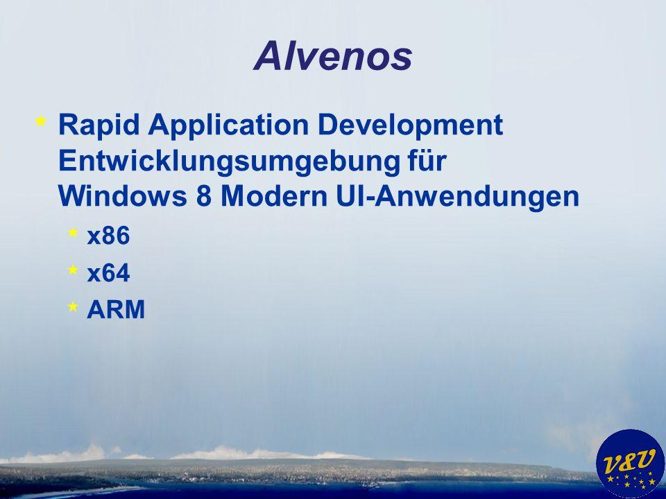Vorlageprojekt AlvenosServer * Serverprojekt * SOAP Server * LAN - Intranet * Internet * (Kompatibel zu Silverswitch)