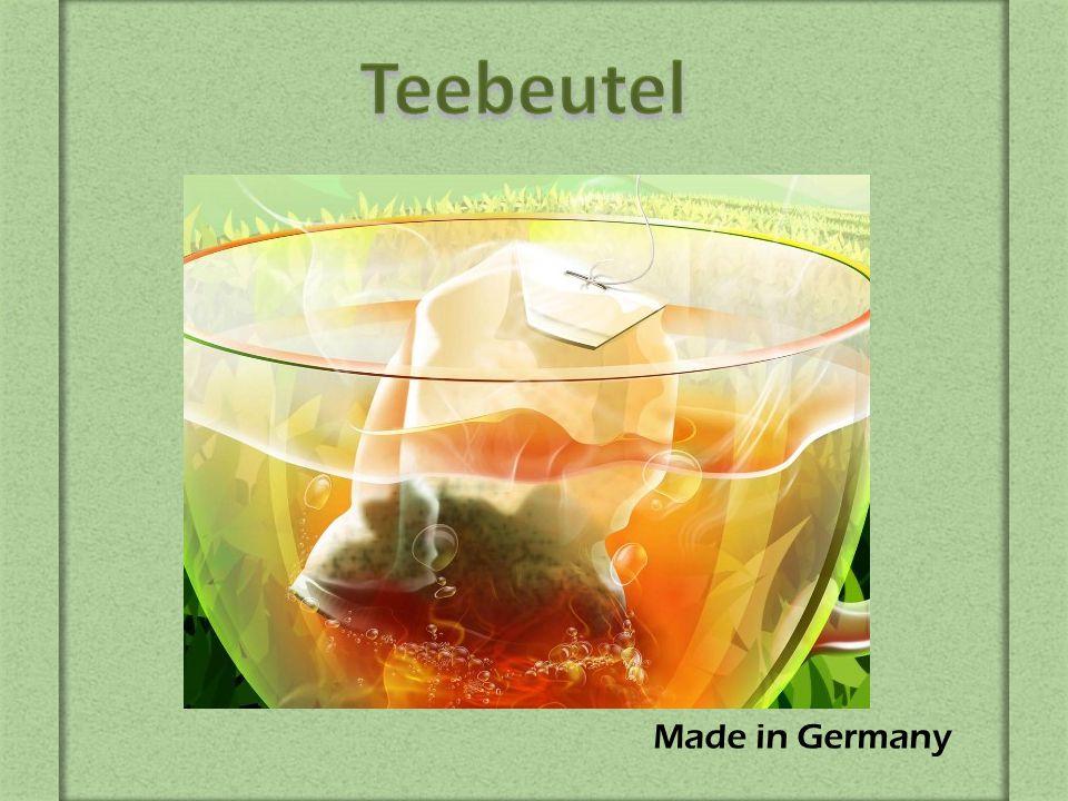 Die Erfindung des Teebeutels beweist noch einmal, dass alles Geniale einfach ist.