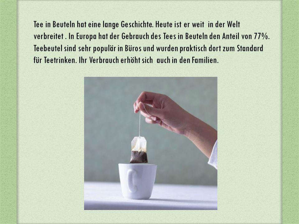 Genießen Sie das Teetrinken !