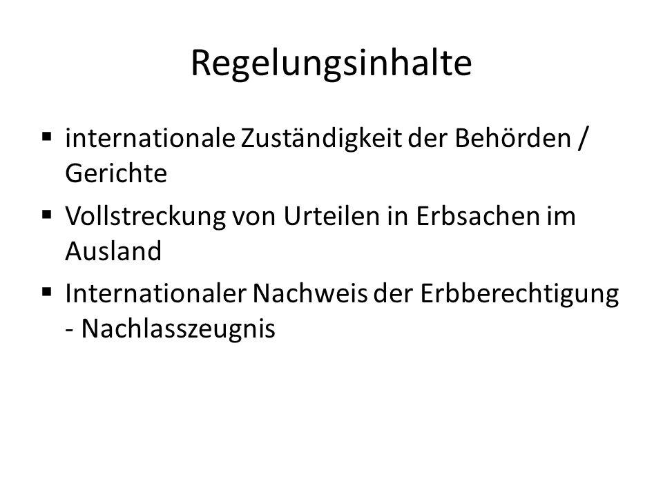 Todesfall vor dem 17.08.2015 Anwendbares Erbrecht: Heimatrecht, Österreich Wirksamkeit des Testaments: Österr.