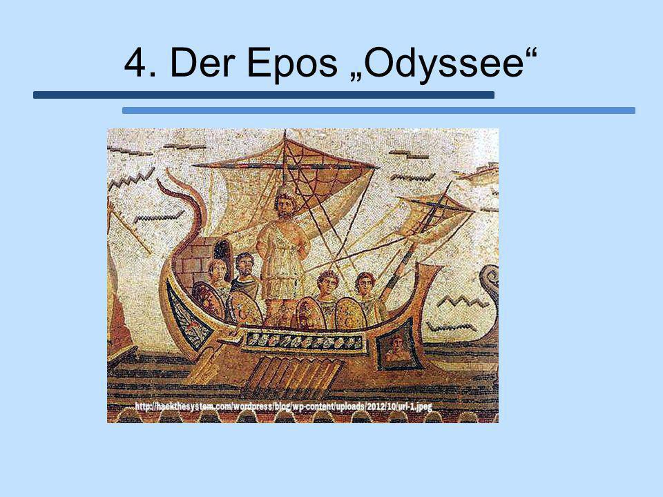 """4. Der Epos """"Odyssee"""""""