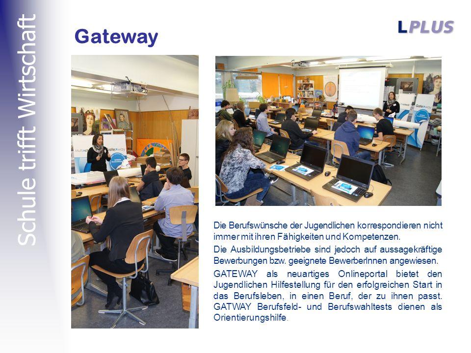 Schule trifft Wirtschaft Gateway Die Berufswünsche der Jugendlichen korrespondieren nicht immer mit ihren Fähigkeiten und Kompetenzen.