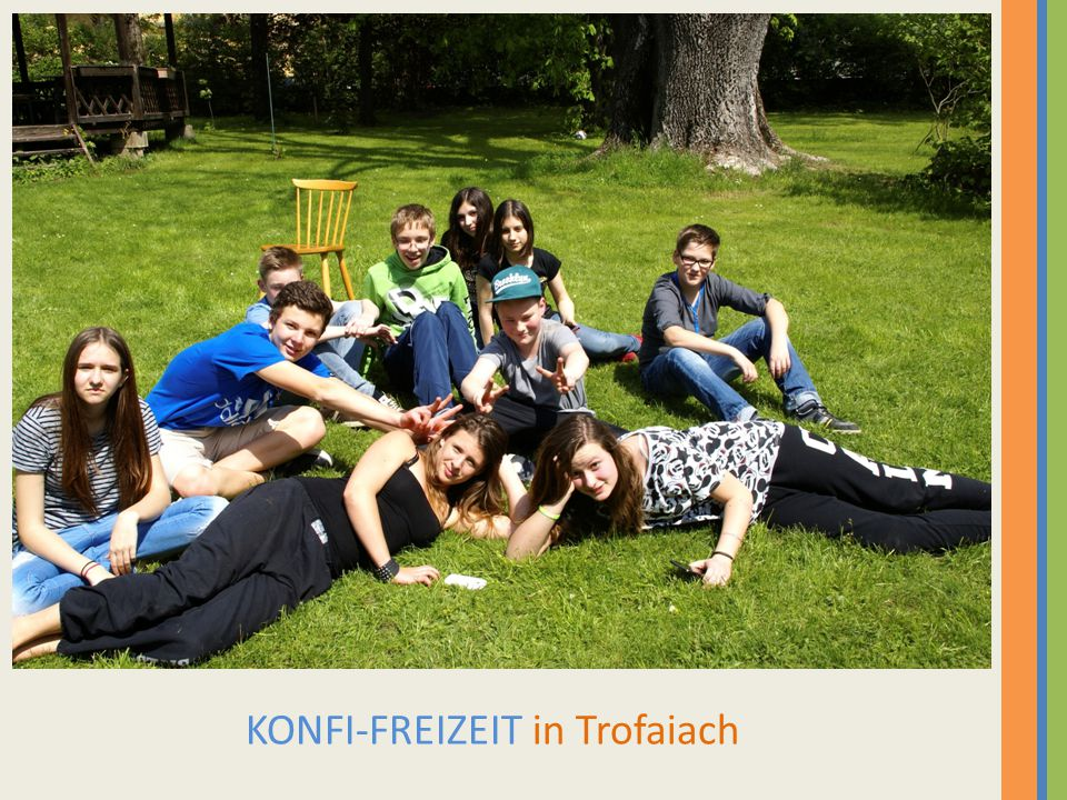 KONFI-FREIZEIT in Trofaiach