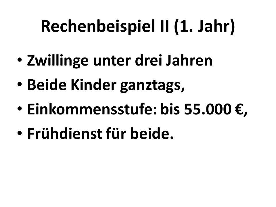 Rechenbeispiel II (1.