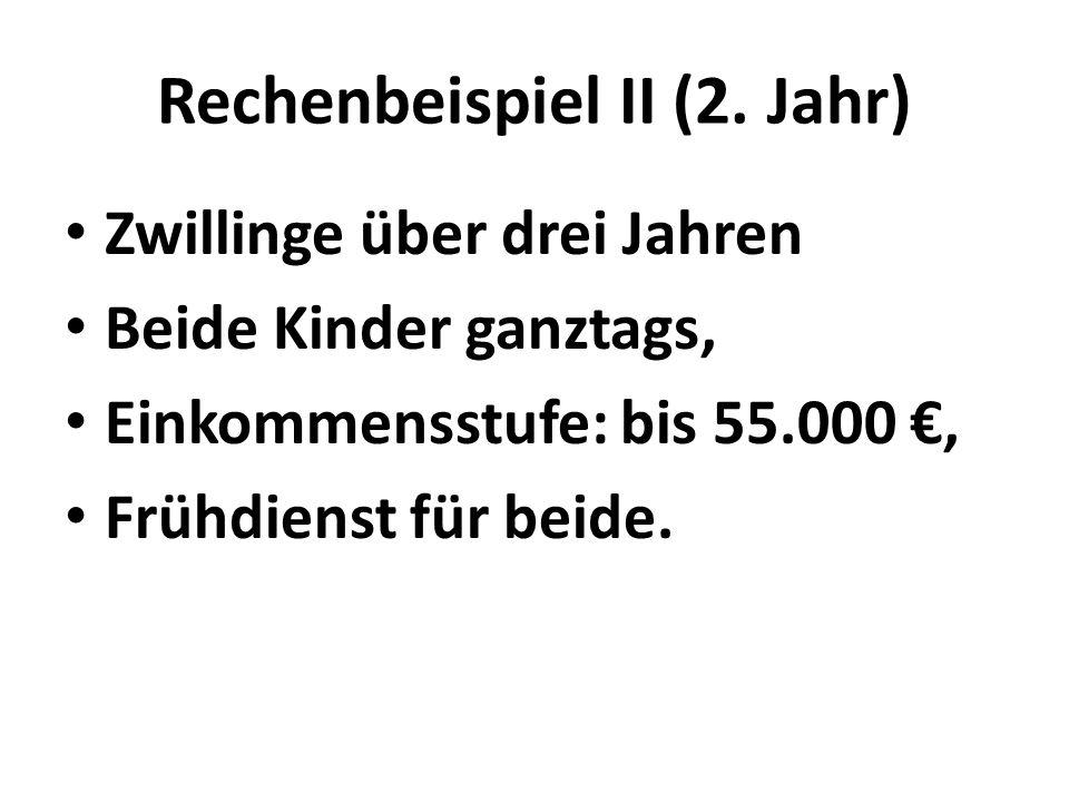 Rechenbeispiel II (2.