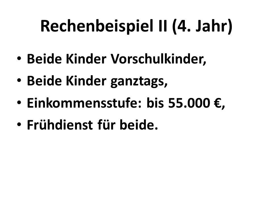 Rechenbeispiel II (4.