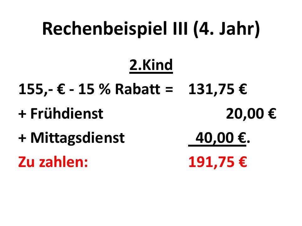 Rechenbeispiel III (4.