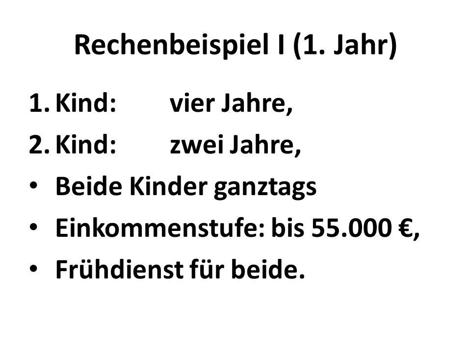 Rechenbeispiel I (1.