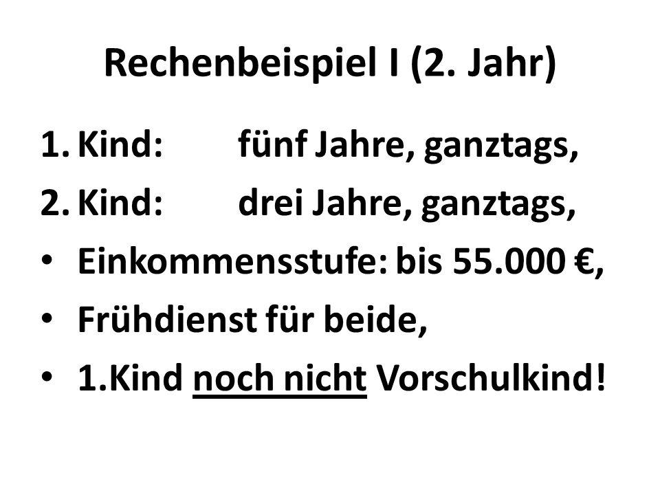 Rechenbeispiel I (2.