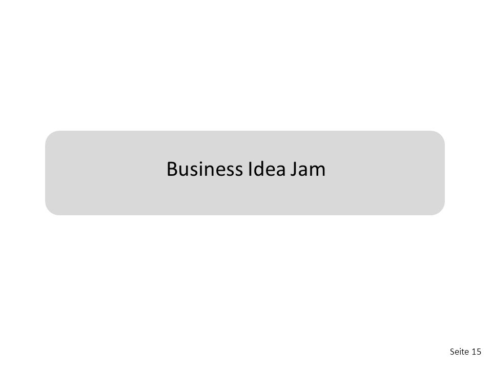 Seite 15 Business Idea Jam
