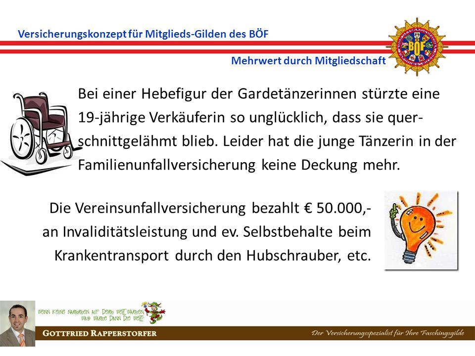 Versicherungskonzept für Mitglieds-Gilden des BÖF Mehrwert durch Mitgliedschaft Nach einer Elferratssitzung im Vereinsheim begann still und heimlich der Aschenbecher zu brennen.