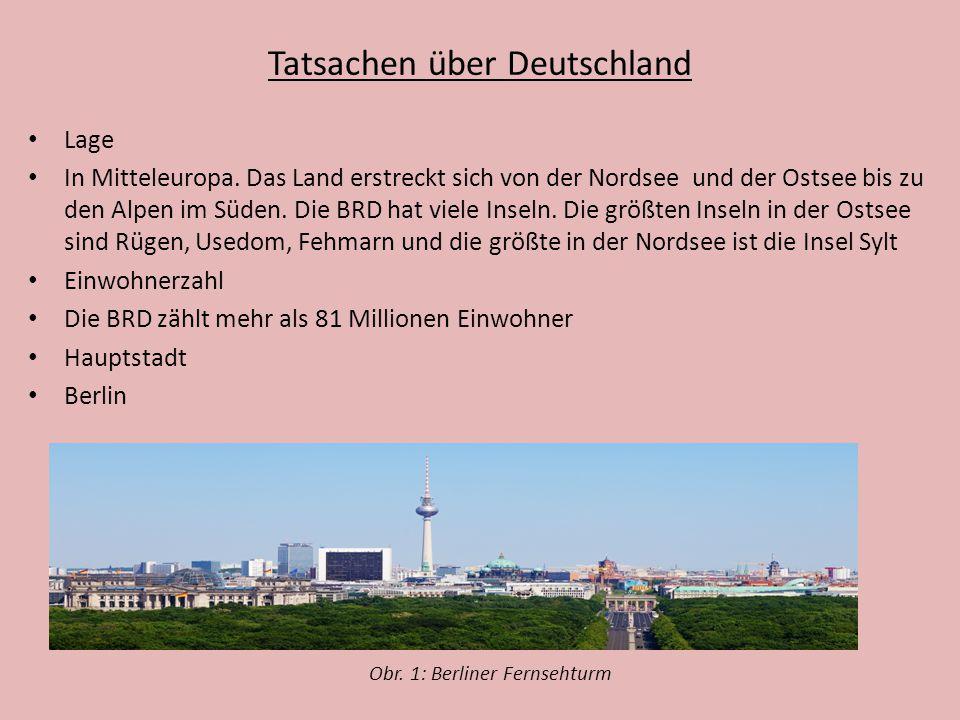 Fragen zum Thema – Zusammenfassung Beschreibt geographische Lage der BRD An wie viel Ländern grenzt Deutschland.