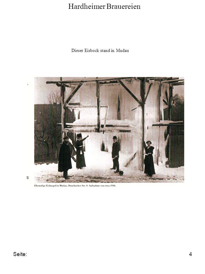 Seite:4 Hardheimer Brauereien Dieser Eisbock stand in Mudau