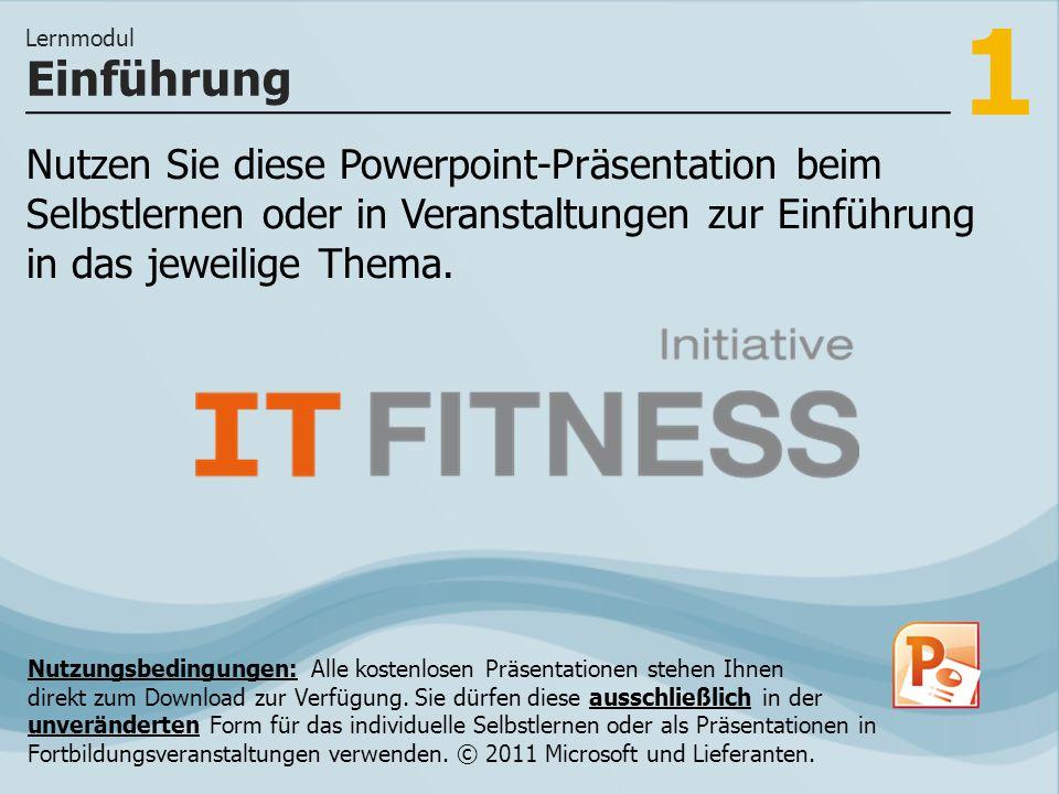 2 Eine PowerPoint-Präsentation kombiniert viele verschiedene Element wie Texte, Grafiken oder Notizen.