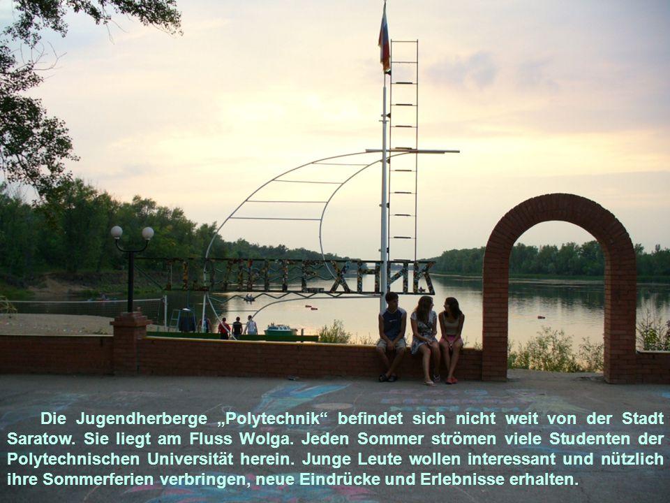 """FREUNDSCHAFT UND LIEBE Die Jugendherberge """"Polytechnik ist ein Treffpunkt für viele Jugendliche."""