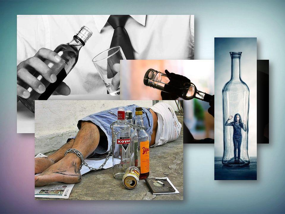 Alkoholismus bedarf einer langen Therapie.