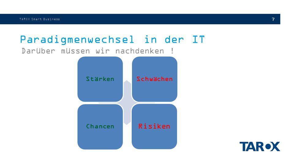 7 Paradigmenwechsel in der IT Darüber müssen wir nachdenken .