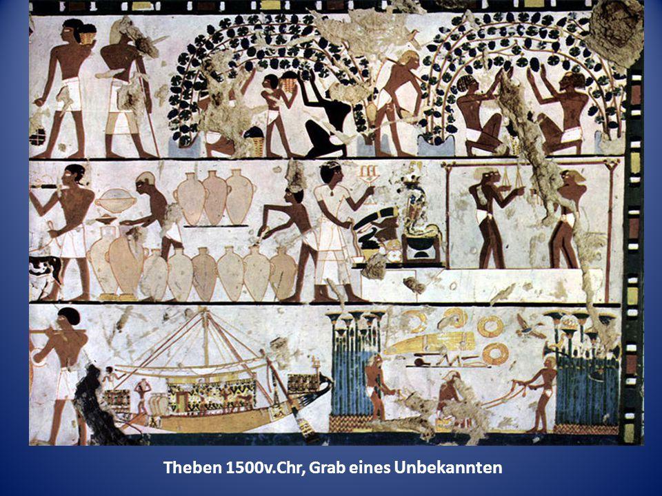 Theben 1500v.Chr, Grab eines Unbekannten
