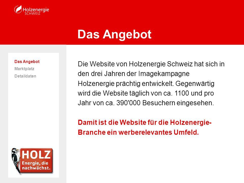 Die Website von Holzenergie Schweiz hat sich in den drei Jahren der Imagekampagne Holzenergie prächtig entwickelt.