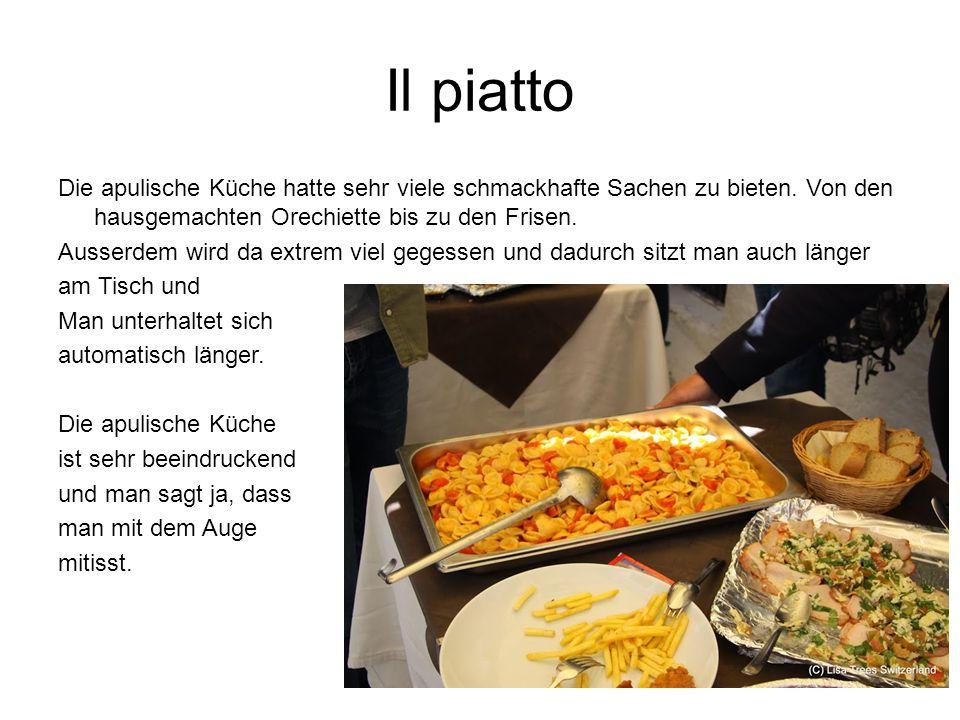 Il piatto Die apulische Küche hatte sehr viele schmackhafte Sachen zu bieten.