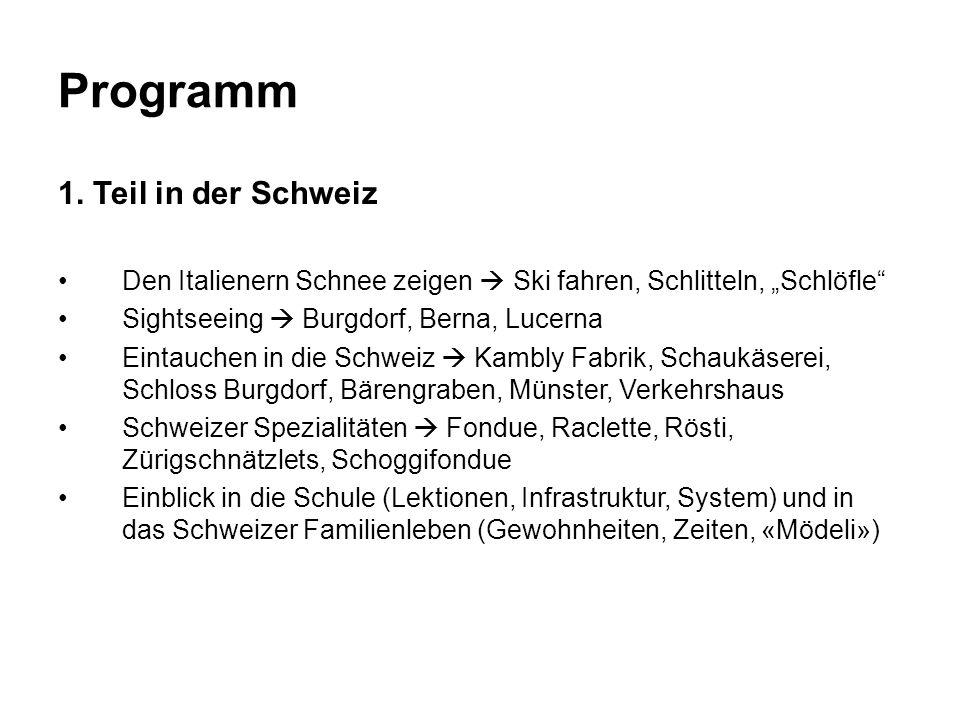 Programm 1.