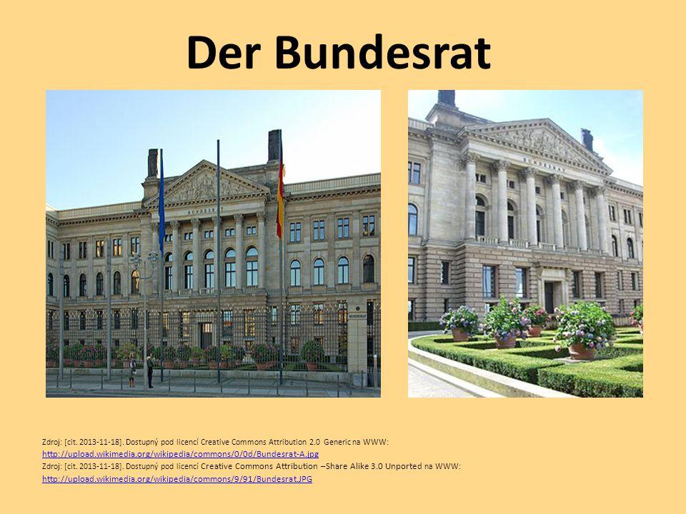 Der Bundesrat Zdroj: [cit. 2013-11-18]. Dostupný pod licencí Creative Commons Attribution 2.0 Generic na WWW: http://upload.wikimedia.org/wikipedia/co