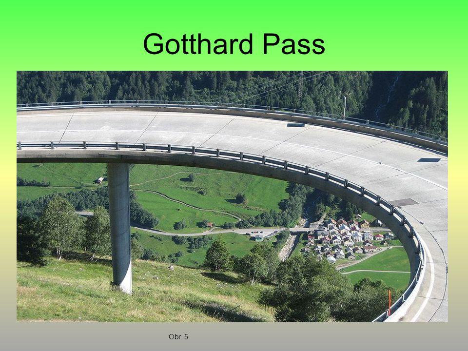 Gotthard Pass Obr. 5