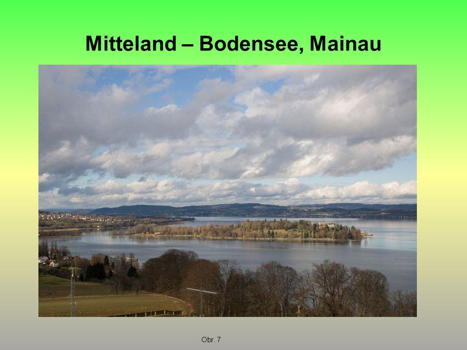 Mitteland – Bodensee, Mainau Obr. 7