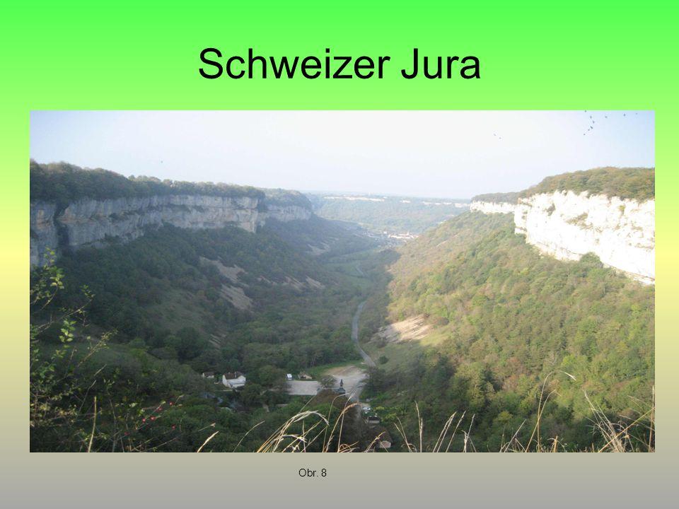 Schweizer Jura Obr. 8