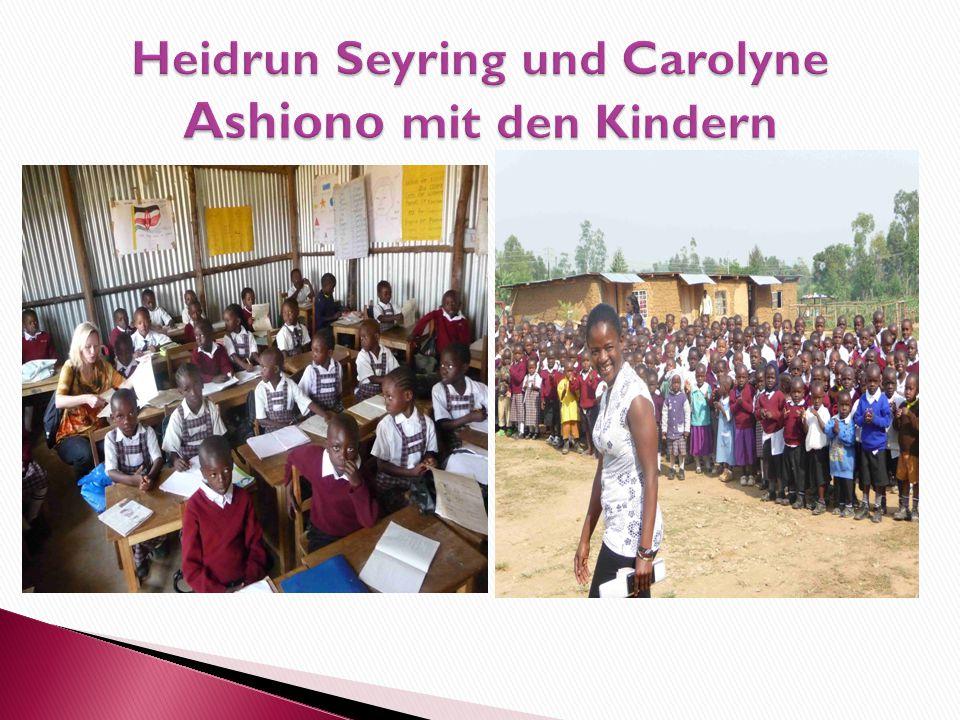  Die Schule wurde im Januar 2013 von Carolyne Ashiono gegründet. Carolyne, die von ihrer Großmutter großgezogen wurde, hat in den USA studiert. Sie i