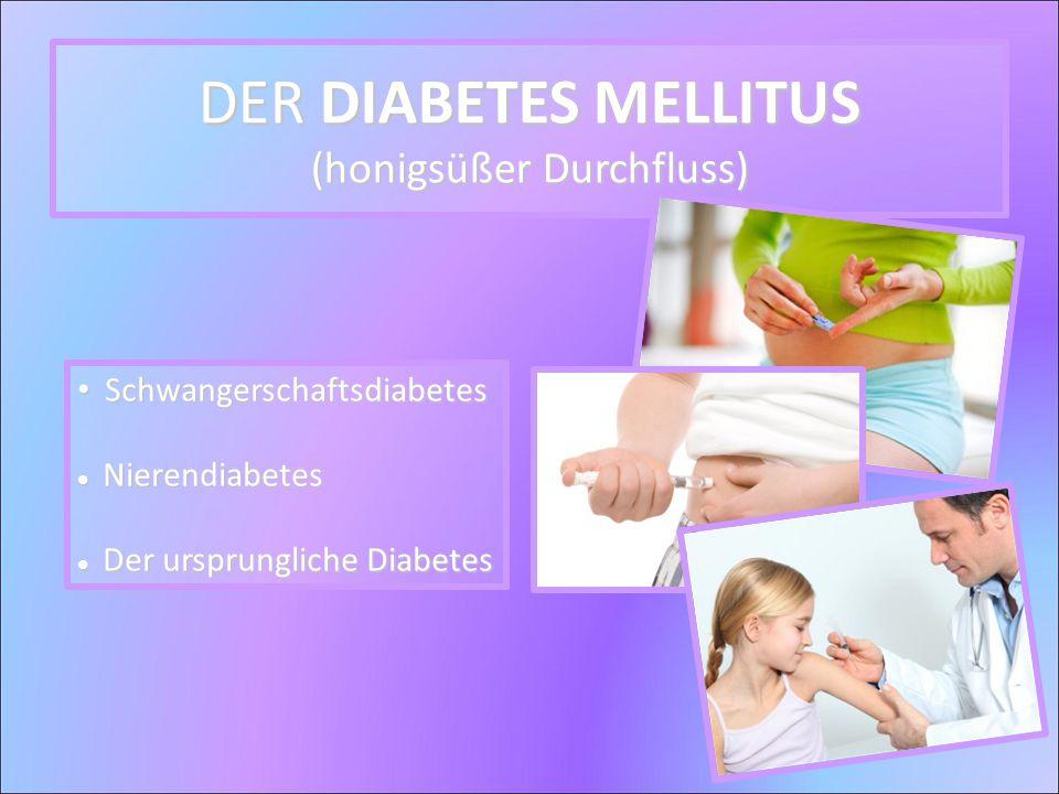 Schwangerschaftsdiabetes Schwangerschaftsdiabetes Nierendiabetes Nierendiabetes Der ursprungliche Diabetes Der ursprungliche Diabetes