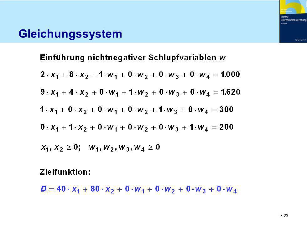 3.23 Gleichungssystem