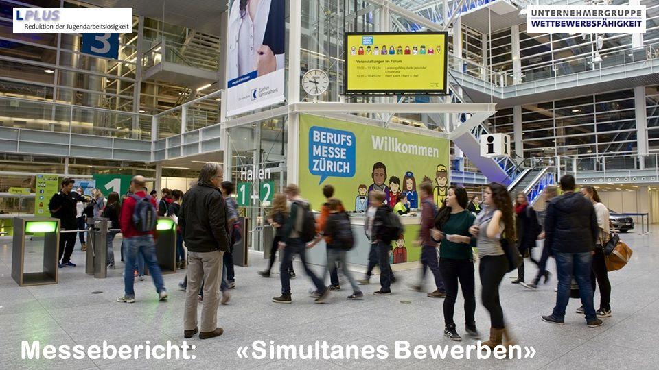 www.go-lplus.ch Messebericht: «Simultanes Bewerben» 2013