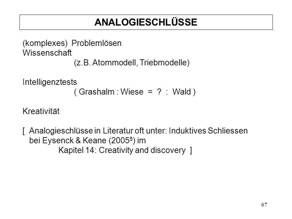 67 (komplexes) Problemlösen Wissenschaft (z.B.