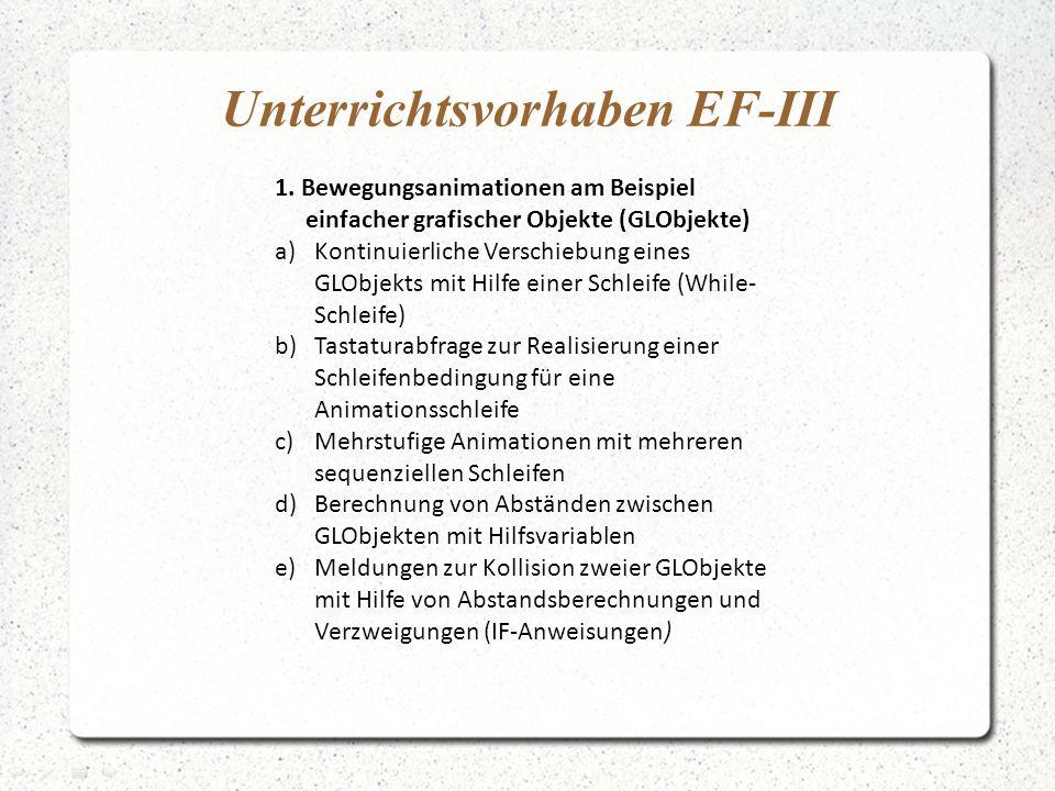 Unterrichtsvorhaben EF-III 1.