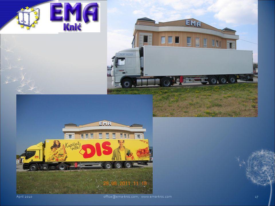 April 2010office@ema-knic.com; www.ema-knic.com17
