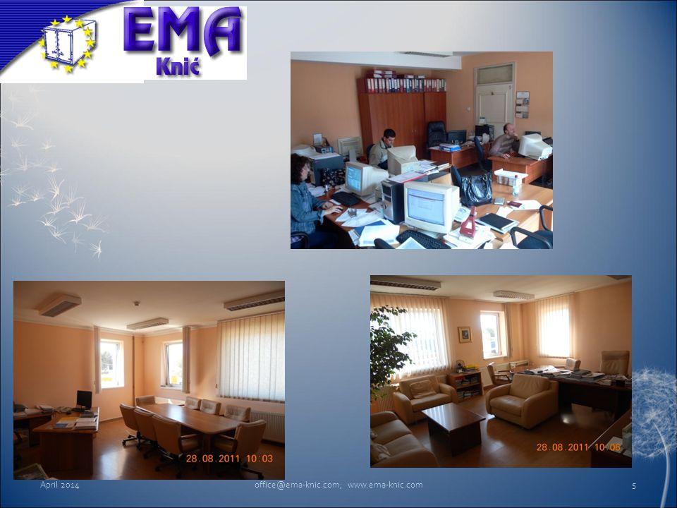 April 2014office@ema-knic.com; www.ema-knic.com5