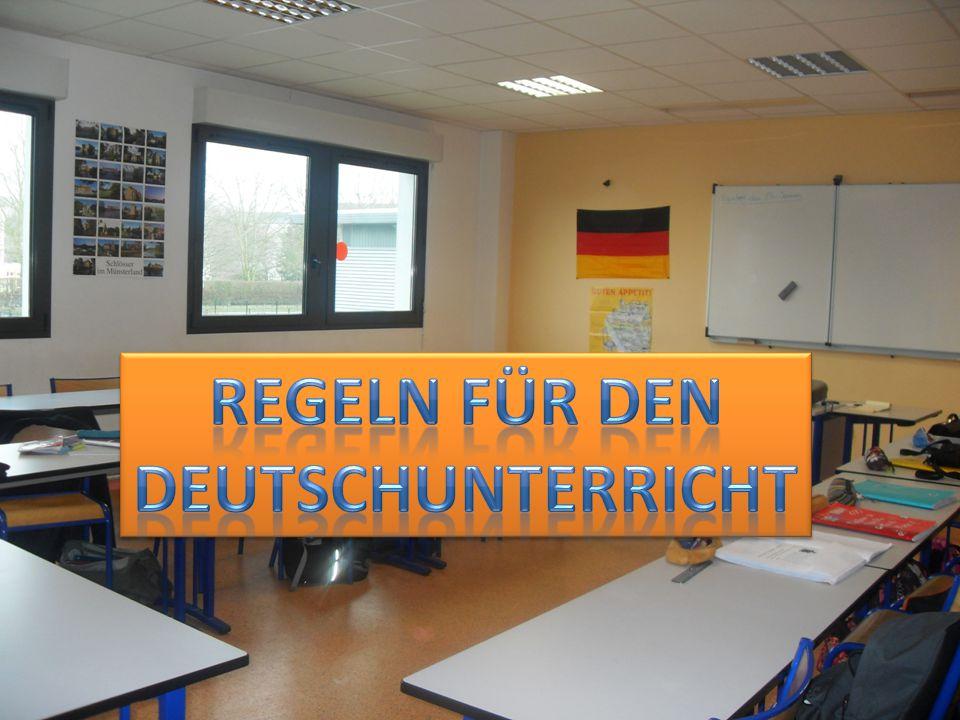 Darf man im Deutschunterricht skaten? Nein, man darf nicht skaten!