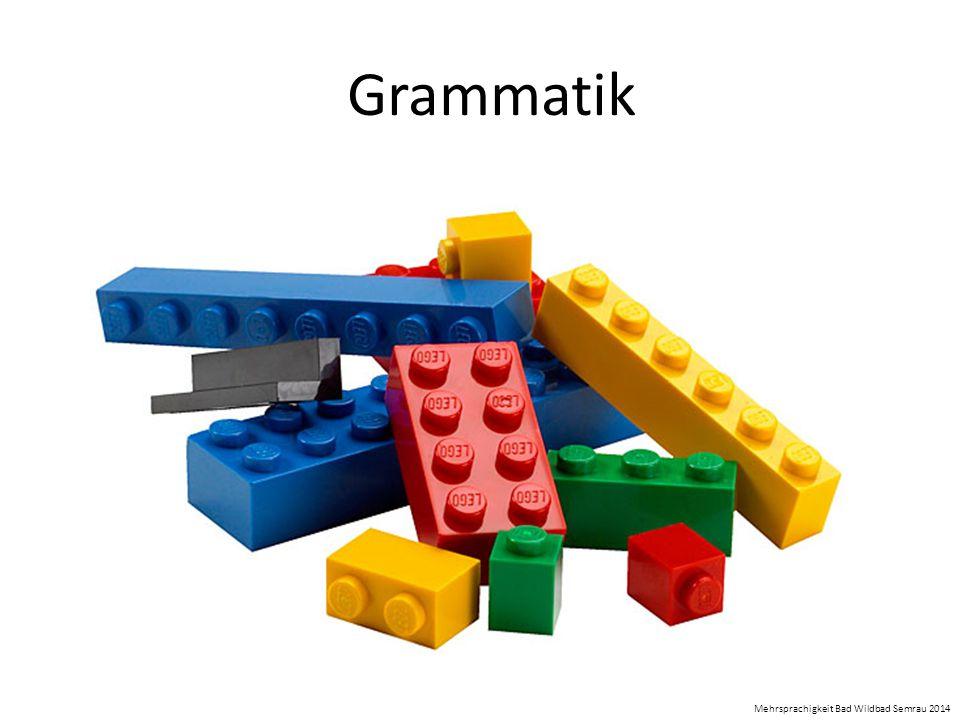 Grammatik Mehrsprachigkeit Bad Wildbad Semrau 2014