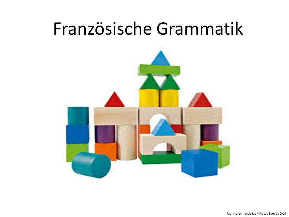 Französische Grammatik Mehrsprachigkeit Bad Wildbad Semrau 2014