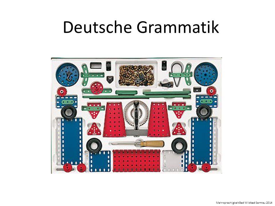 Deutsche Grammatik Mehrsprachigkeit Bad Wildbad Semrau 2014