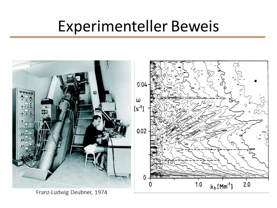 Experimenteller Beweis Franz-Ludwig Deubner, 1974
