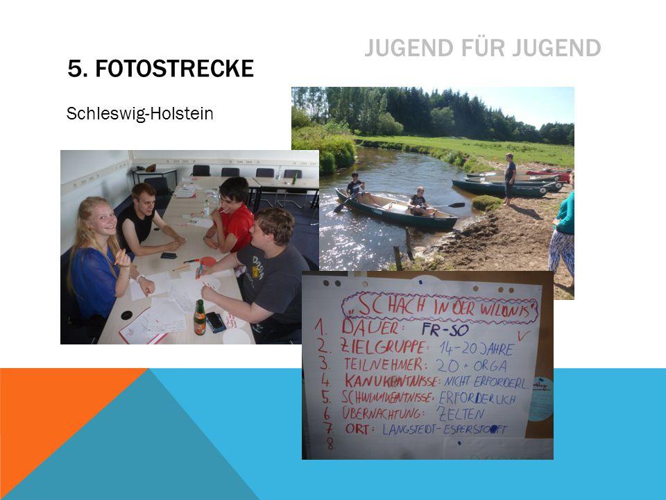 JUGEND FÜR JUGEND Schleswig-Holstein 5. FOTOSTRECKE