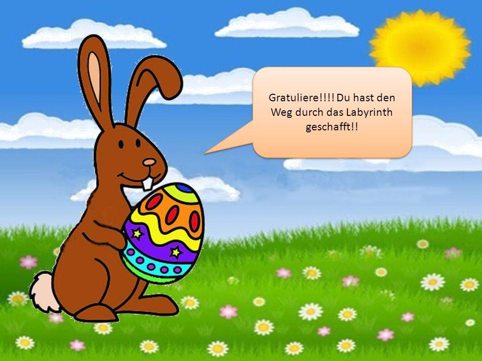 START ZIEL Bring mir ein Ei, Und ich lass dich vorbei.