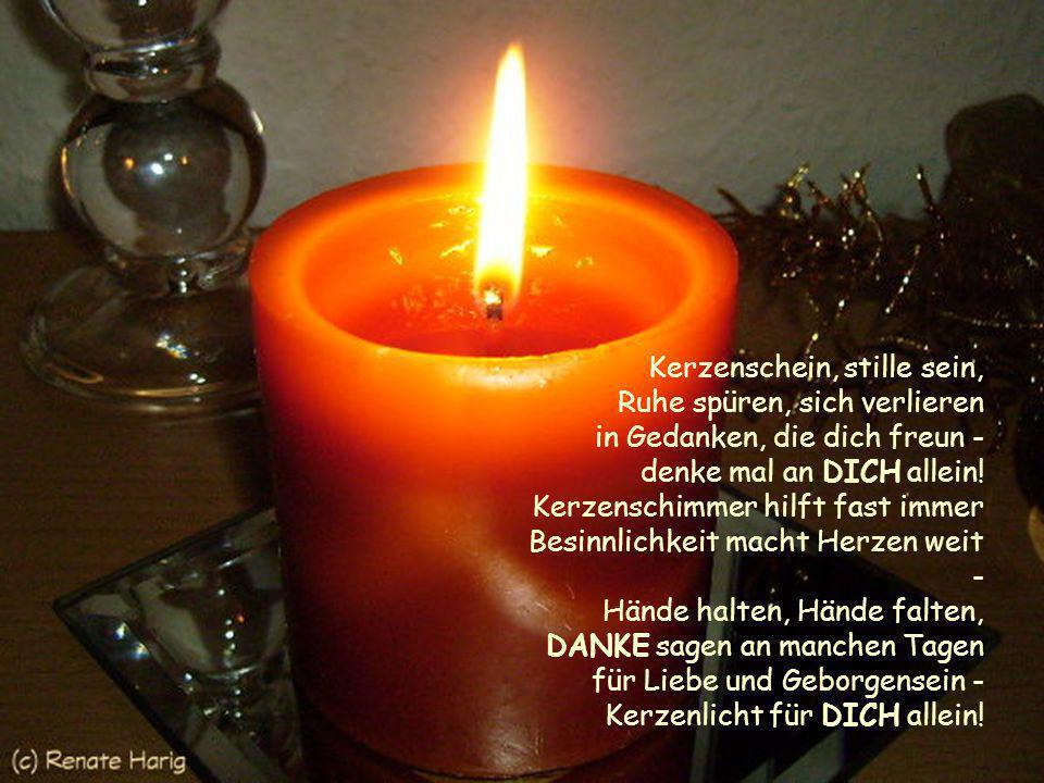 Liebe Geborgenheit Gemeinsamkeit Ruhe Stille Zuversicht Licht Wärme Wohlgefühl