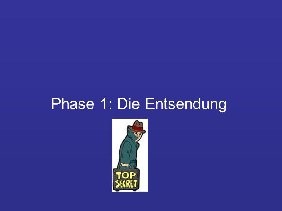 Phase 1: Die Entsendung