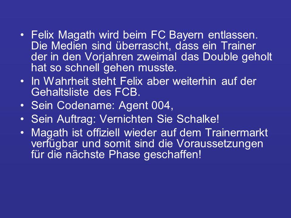Felix Magath wird beim FC Bayern entlassen.